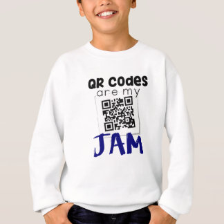 QR codes are my jam Sweatshirt