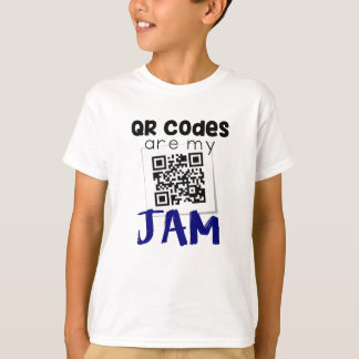 QR codes are my jam T-Shirt