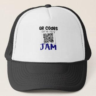 QR codes are my jam Trucker Hat