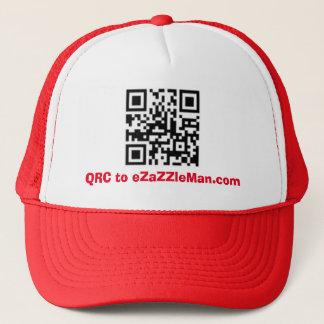 QRC to eZaZZleMan.com - Advertising Hat/Cap Trucker Hat