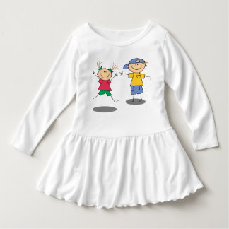 Qrolly Roll girl's wear Dress