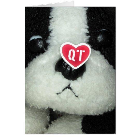 QT Love Card