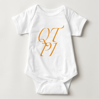 QTPI ORANGE BABY BODYSUIT
