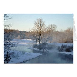Quaboag River Holiday Card