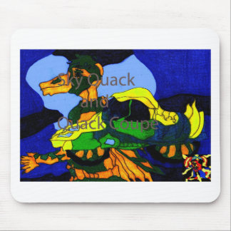 Quack Duck and Quack Coupe Mouse Pad