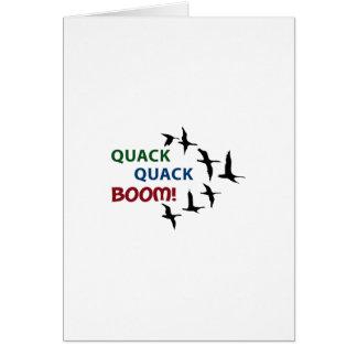 QUACK QUACK BOOM CARD