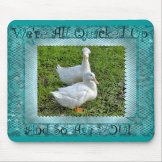 quacked up ducks mouse pad