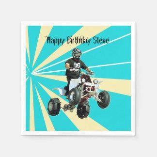 Quad Bike / ATV Disposable Napkin