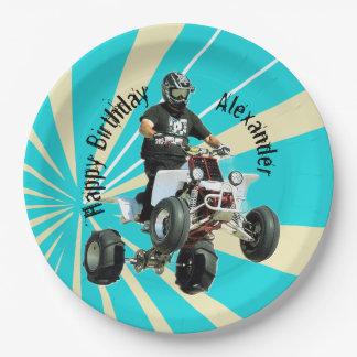 Quad bike / ATV Paper Plate