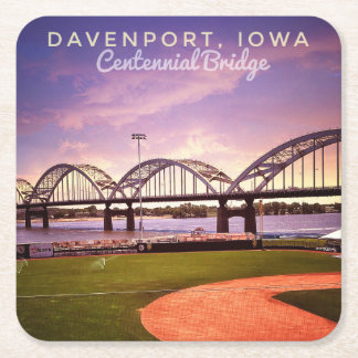 Quad City Centennial Bridge Coasters