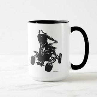 Quad Jump Silhouette Mug