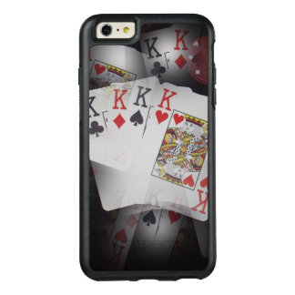 Quad Kings In A Layered Pattern, OtterBox iPhone 6/6s Plus Case