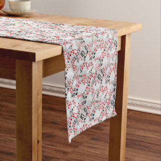 Quad Tens In A Layered Pattern, Short Table Runner
