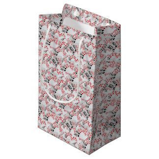 Quad Tens In A Layered Pattern, Small Gift Bag
