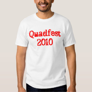 Quadfest 2010 t shirt