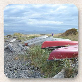 Quadra Island Row Boats Coaster