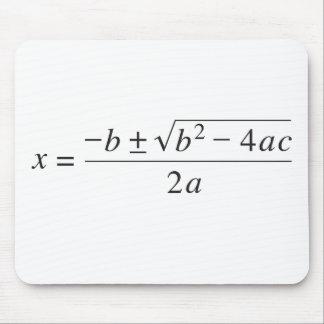 quadratic formula mouse pad