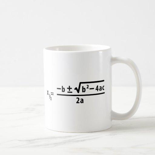 quadratic formula mugs