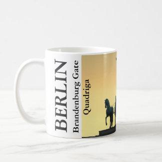 Quadriga Brandenburg Gate 001.5.T, Berlin Coffee Mug