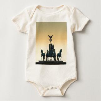 Quadriga Brandenburg Gate 001, Berlin Baby Bodysuit