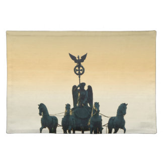 Quadriga Brandenburg Gate 001, Berlin Placemat