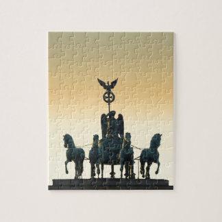 Quadriga Brandenburg Gate 001, Berlin Puzzle