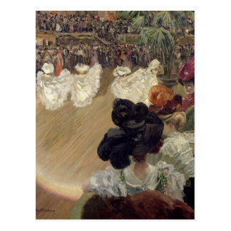 Quadrille at the Bal Tabarin Postcard