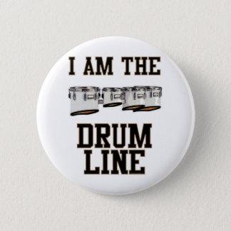 Quads: I Am The Drum Line 6 Cm Round Badge