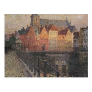 Quai de la Paille, Bruges Postcard