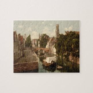 Quai Vert, Bruges Belgium Jigsaw Puzzle