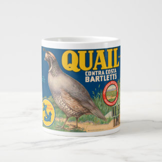 Quail Brand Contra Costa Bartletts Vintage Crate L Jumbo Mug