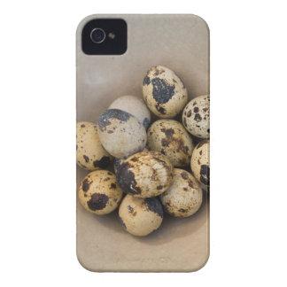 Quails eggs in a bowl iPhone 4 Case-Mate case
