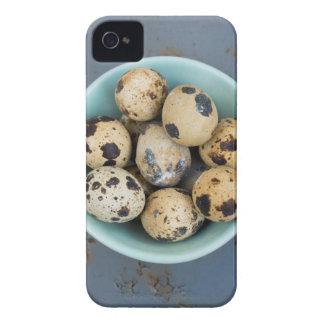 Quails eggs in a green bowl iPhone 4 Case-Mate case