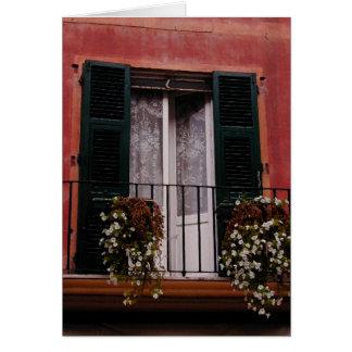 Quaint Balcony Card