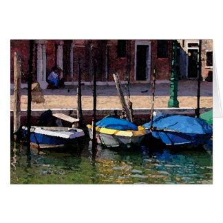Quaint Boats Card