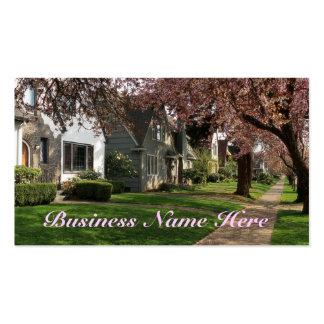 Quaint Neighborhood Business Cards