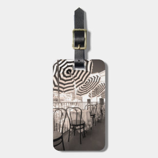 Quaint restaurant balcony, Italy Bag Tag