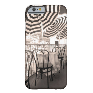 Quaint restaurant balcony, Italy Barely There iPhone 6 Case