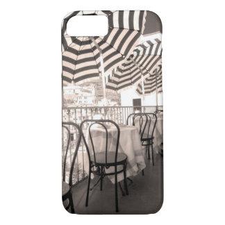 Quaint restaurant balcony, Italy iPhone 7 Case