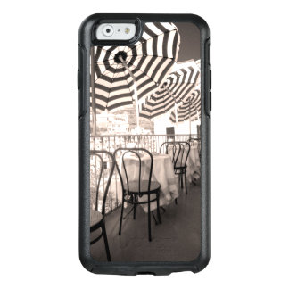 Quaint restaurant balcony, Italy OtterBox iPhone 6/6s Case