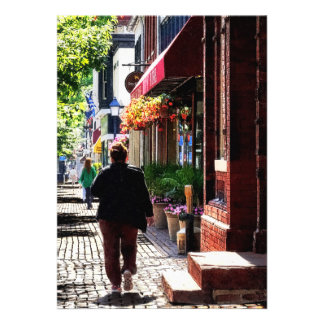 Quaint Street Alexandria VA Custom Invites
