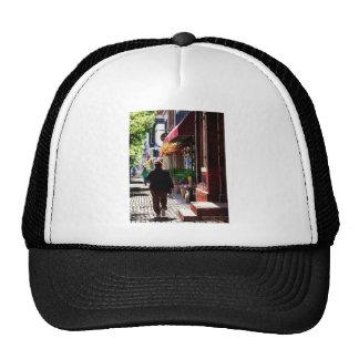 Quaint Street Alexandria VA Trucker Hats