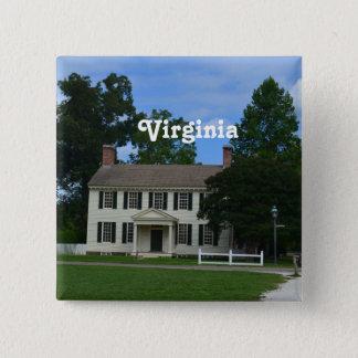 Quaint Williamsburg 15 Cm Square Badge