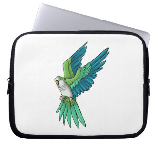 Quaker Parrot Laptop Sleeve