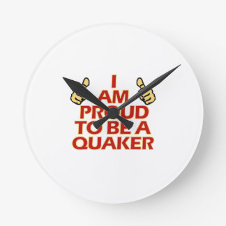 Quaker religious designs clocks