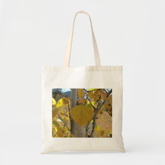 Quaking Aspen Leaf Budget Tote Bag
