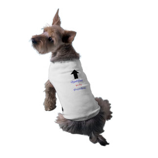 Qualified to be President Dog Shirt