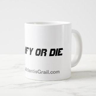 Qualify or Die - Jumbo Mug