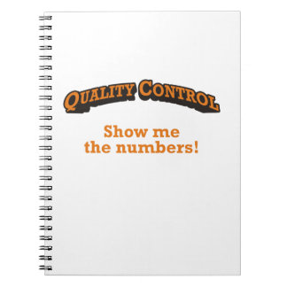 Quality Control / Numbers Notebooks