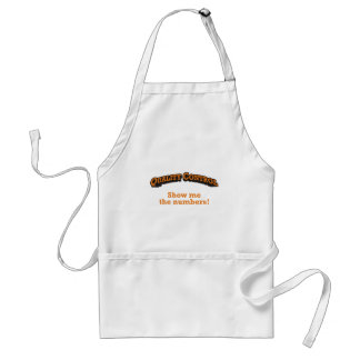 Quality Control / Numbers Standard Apron